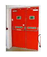 Double GI Fire Doors